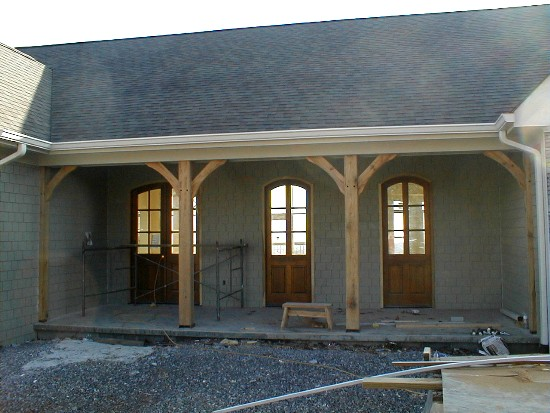 January2 for Stained front porch